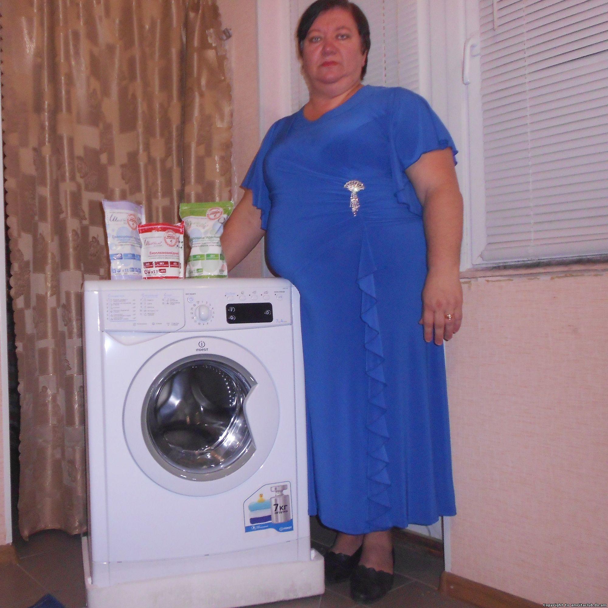 Переможниця розіграшу пральної машини вже отримала свій приз!