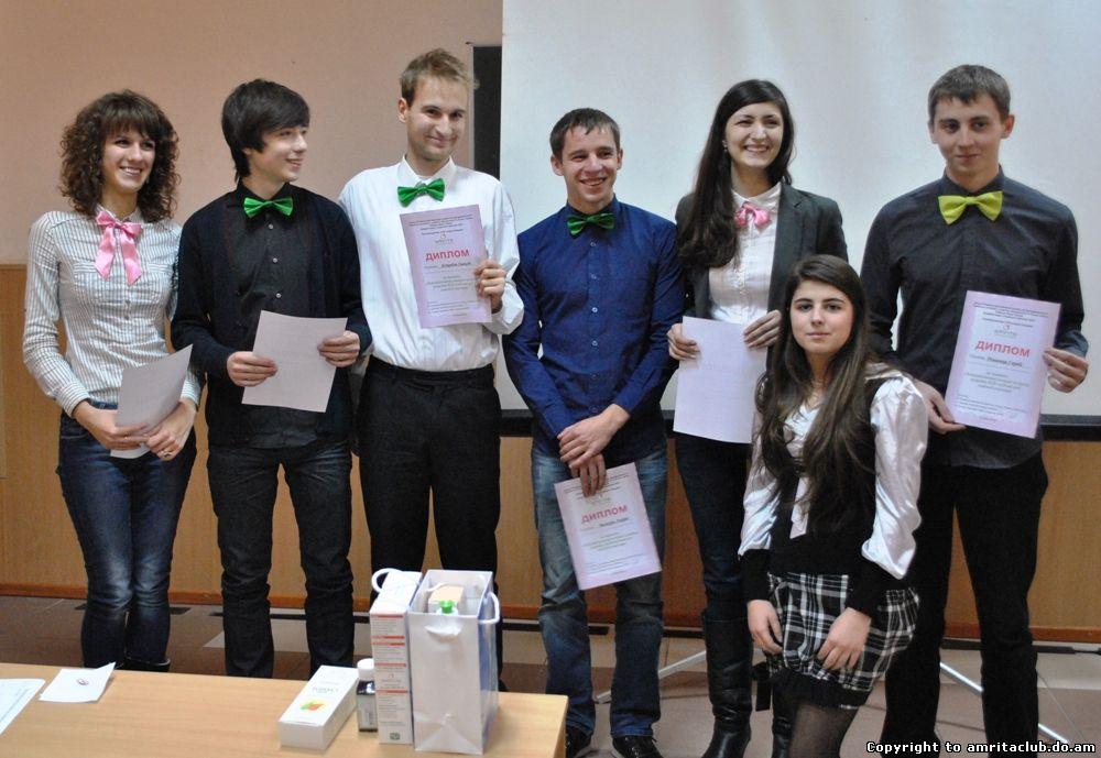Студенти запропонували програму КСВ для компанії «Амріта»
