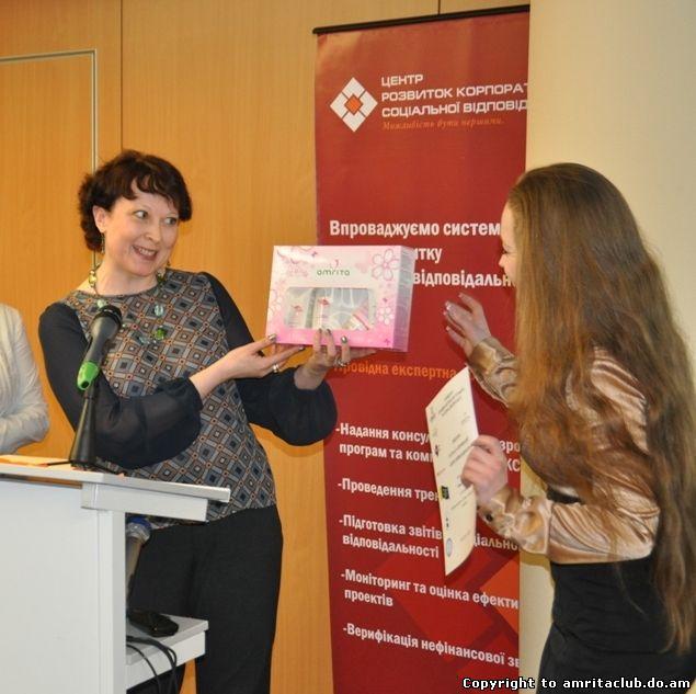 Визначено переможців конкурсу журналістів, у якому Компанія «Амріта» виступила партнером