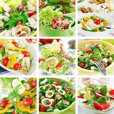 Рецепты салатов диетических с фотографиями