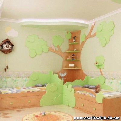 Екологічний дім: дитяча кімната