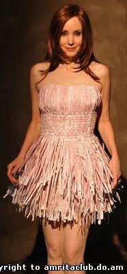 Сукня з податкових декларацій від Britt Savage