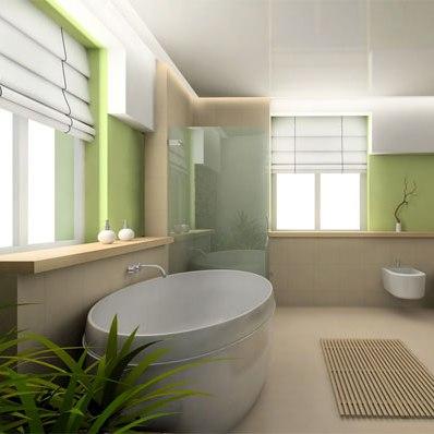 Екологічний будинок: ванна кімната